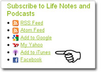 How to subscribe to the Real Life podcast