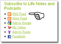 How to subscribe to Life Notes
